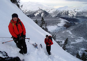 Skiing Alaska Backcountry
