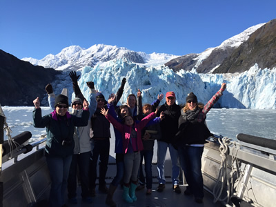 Winter Glacier Boat Tour
